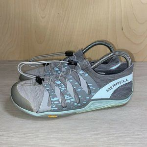 Merrell Barefoot 2 Grey / Light Blue Women's US 6
